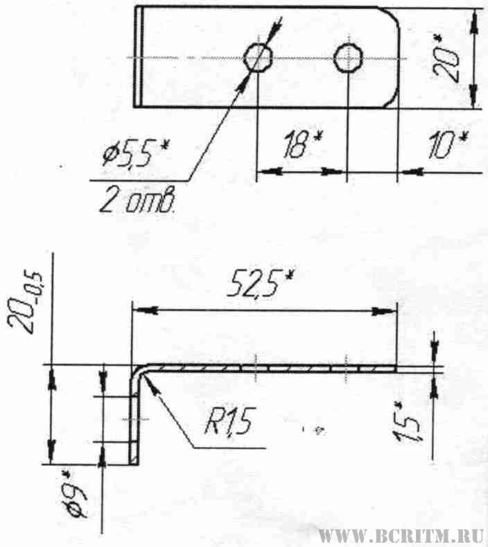Рис. 1 Монтаж подогревателя Северс-М3 на автомобиль КамАЗ