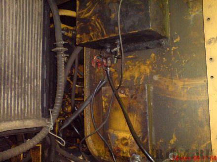Топливный бак и место установки подогреватель двигателя Hidronic 10