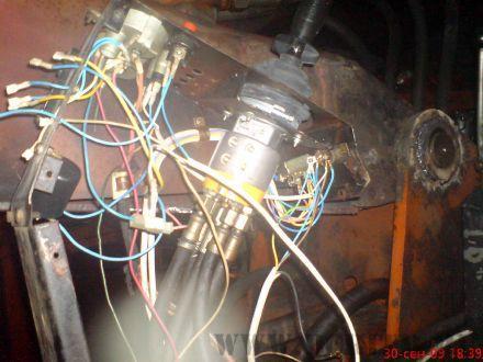 Полное восстановление электрической схемы консоли управления