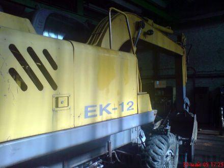 Ремонт экскаватора ЕК-12
